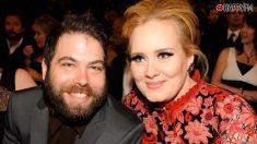 Adele y su ex-marido Simon Konecki