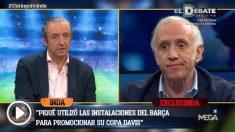 Inda desveló que Piqué está más centrado en el tenis que en el fútbol.