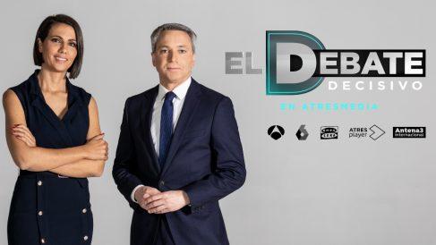 Vicente Vallés y Ana Pastor conducirán 'El Debate Decisivo'