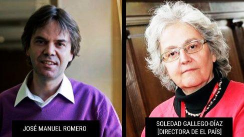José Manuel Romero y Soledad Gallego Díaz