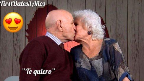 Alejandro y Estrella en 'First Dates'