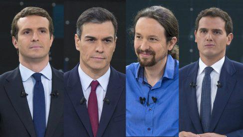 Vota al ganador del debate electoral de La 1 de TVE.
