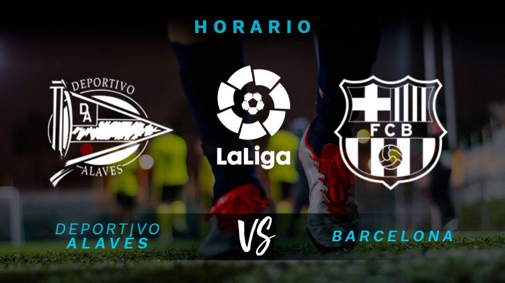 Alavés – Barcelona: Hora y dónde ver el partido de Liga Santander.
