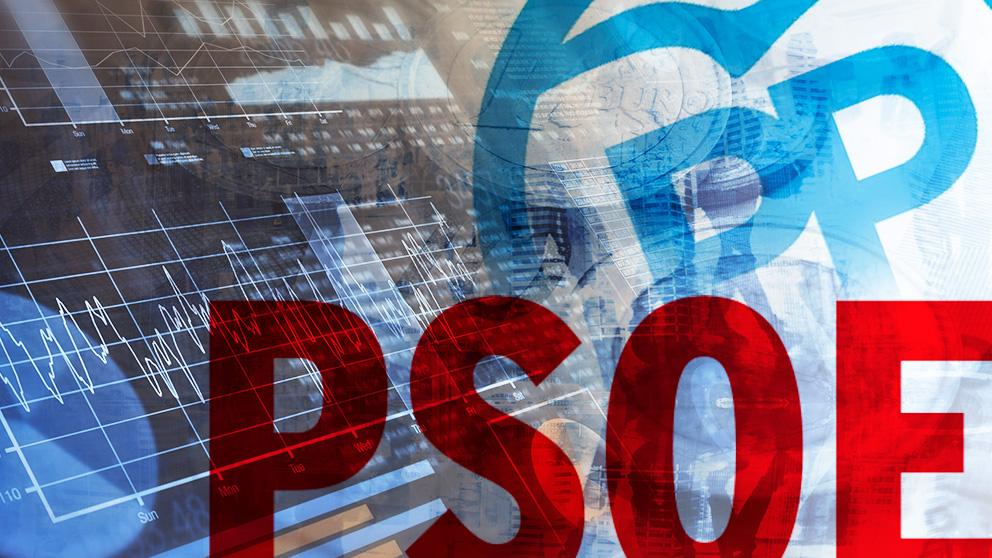 Los logos del PP y del PSOE.