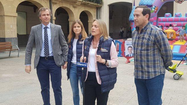 Raquel González (PP): «Otegi y Ortuzar quieren ser ministros sin cartera de Sánchez»