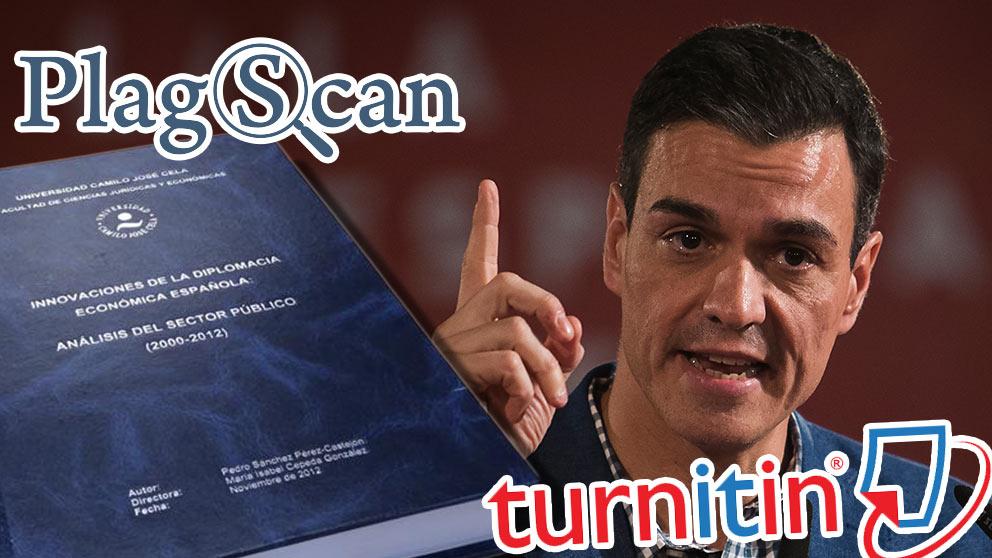 El presidente del Gobierno pasó su tesis por los test antiplagio PlagScan y Turnitin por su cuenta.
