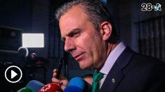 El secretario general de Vox, Javier Ortega Smith. Foto: Europa Press