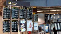 El aeropuerto Adolfo Suárez-Barajas de Madrid.