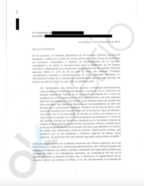 La Junta de Susana Díaz quiso reincorporar tras un polémico ERE a cinco guardias rurales fallecidos