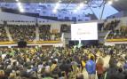 Llenazo total de VOX en Las Rozas: 5.000 simpatizantes arropan a Santiago Abascal