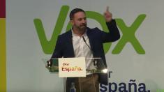 Santiago Abascal, líder de VOX. Foto. Twitter.