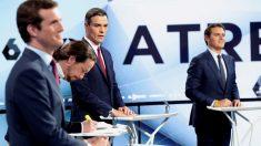 Debate electoral en Atresmedia (Foto: EFE)