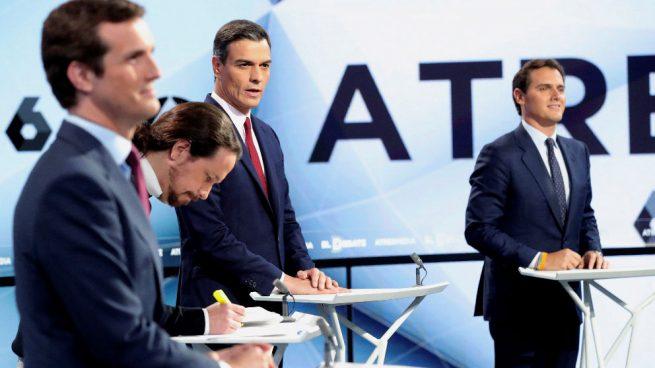 El debate de Atresmedia aumenta el tono bronco de la campaña a 5 días para el 28-A