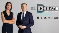 El debate electoral de Antena 3 reunirá a los principales candidatos a partir de las 22:00 h.