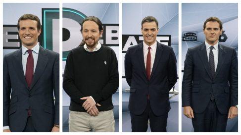 Vota al ganador del debate electoral de Atresmedia.