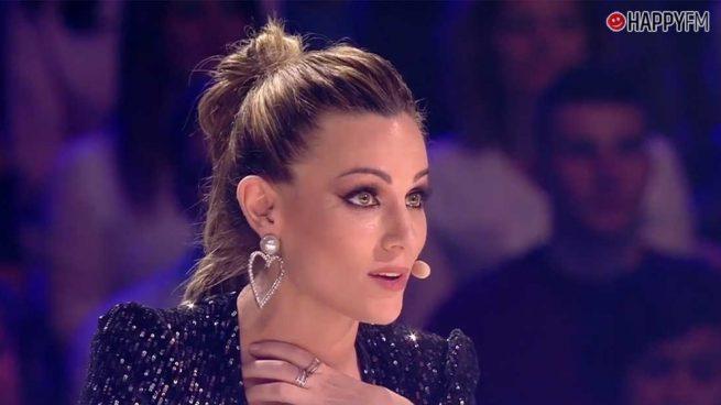 'Got Talent': Edurne confiesa cuál ha sido el momento más complicado de su carrera