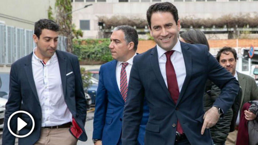 Teodoro García Egea. Foto: EP