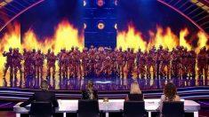 La murga Zeta zetas consiguieron el apoyo del público de 'Got Talent'