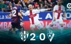 Huesca – Eibar: resumen, resultado y goles (2-0)