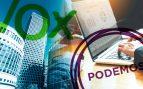 Sólo Podemos y VOX han aplazado sus reuniones con grandes empresas hasta después del 28-A
