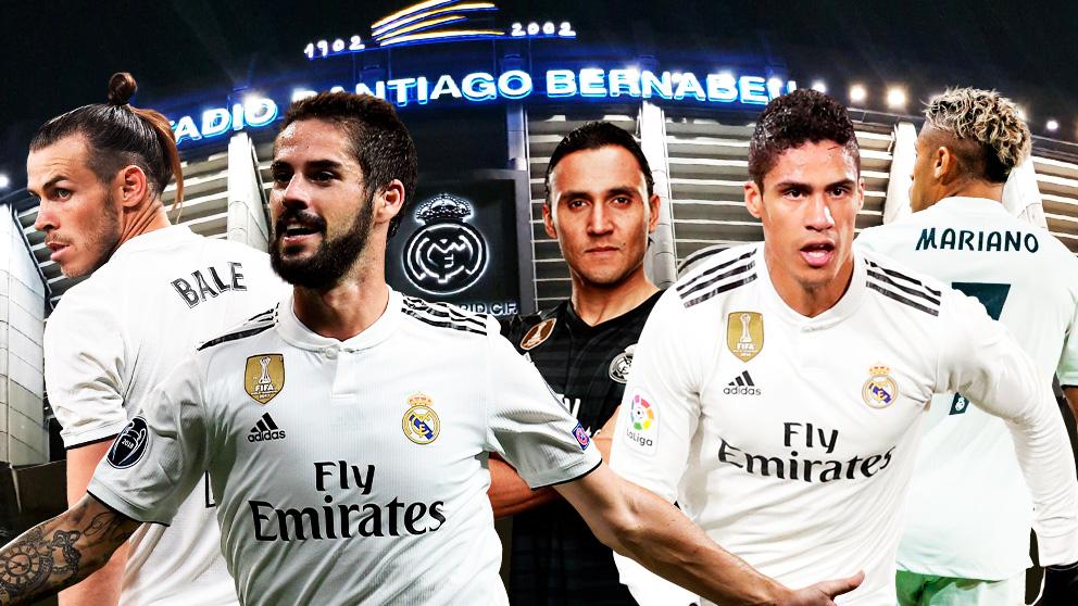 El Real Madrid tiene que dejar salir antes de hacer fichajes.
