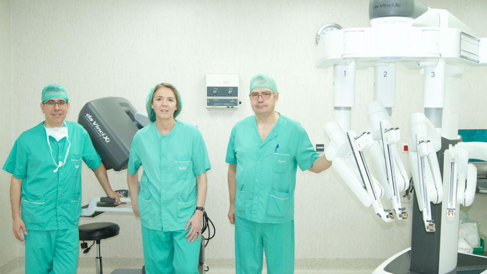 Cirugía robótica Xi Da Vinci (Foto: Quirón Salud)
