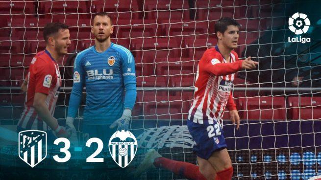 El Atlético aplaza el alirón del Barça