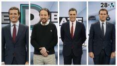 Vota al ganador del debate electoral de Atresmedia
