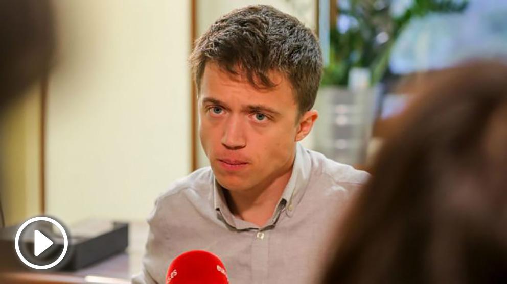 Íñigo Errejón. Foto: Europa Press
