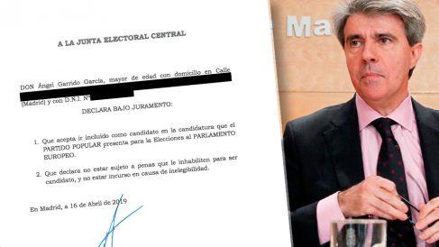 """Ángel Garrido declaró """"bajo juramento"""" que quería ir en las listas del PP"""