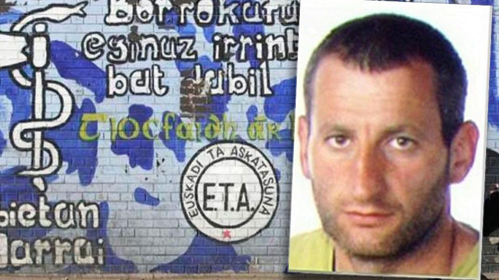 Andoni Goicoetxea, etarra del 'Comando Erraka'.