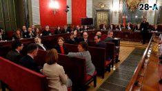 Sesión del juicio en el Tribunal Supremo.