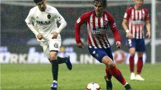 Liga Santander: Atlético de Madrid – Valencia   Partido de fútbol hoy, en directo.