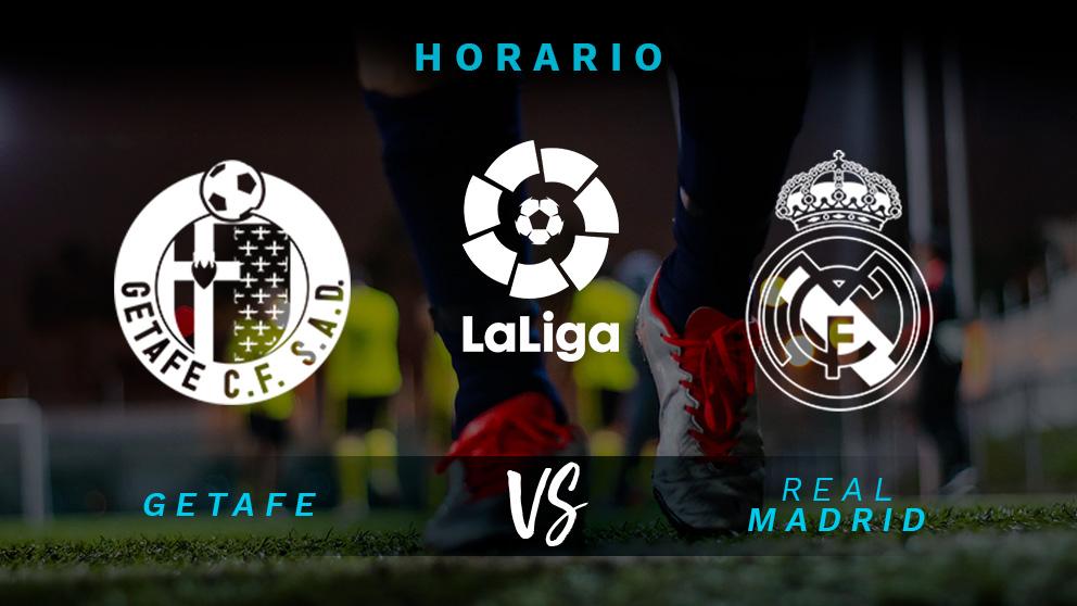 Liga Santander: Getafe – Real Madrid   Horario del partido de fútbol de Liga Santander.
