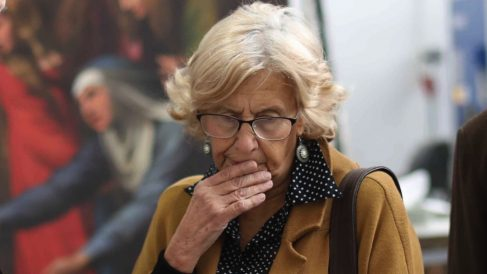 La ex alcaldesa de Madrid Manuela Carmena.