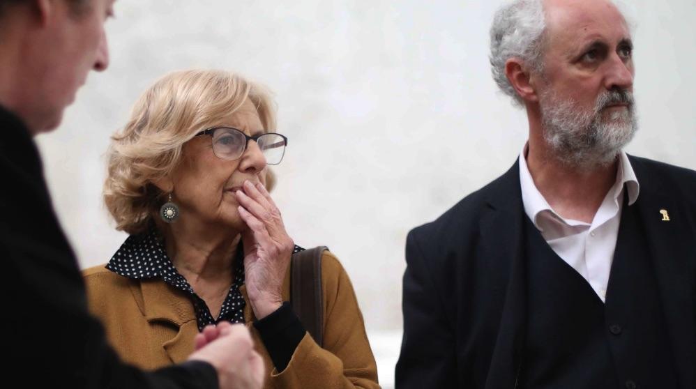 Manuela Carmena y Luis Cueto. (Foto. Madrid)