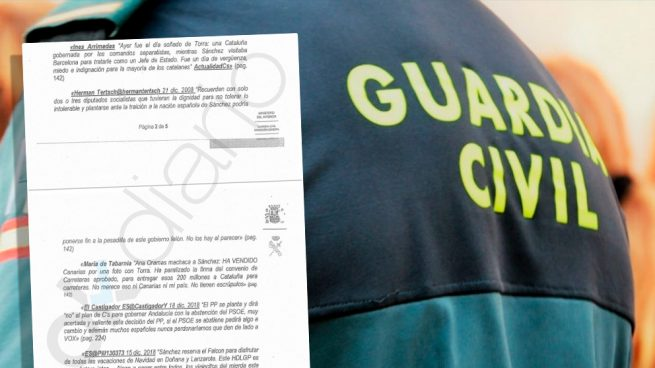 Marlaska pretende sancionar a instancias de Bildu a un guardia civil por hacer retuits contra Sánchez