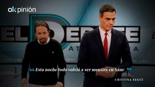 Noqueada la izquierda decrépita de Sánchez e Iglesias