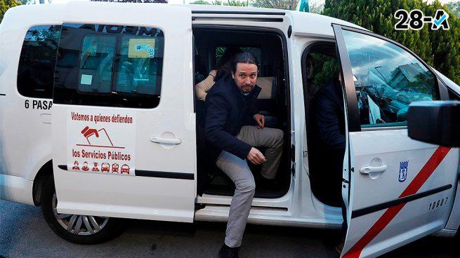 Diario de Campaña, día 12: Iglesias vuelve al taxi, pero sólo para la foto