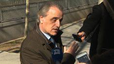 Pau Molins, abogado de Sandro Rosell (Foto: EP)