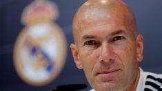 Zinedine Zidane, en rueda de prensa. (EFE)