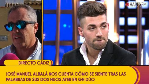 Alejandro Albalá ante las declaraciones de su padre