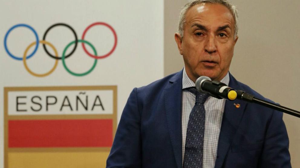 Alejandro Blanco, presidente del Comité Olímpico Español.