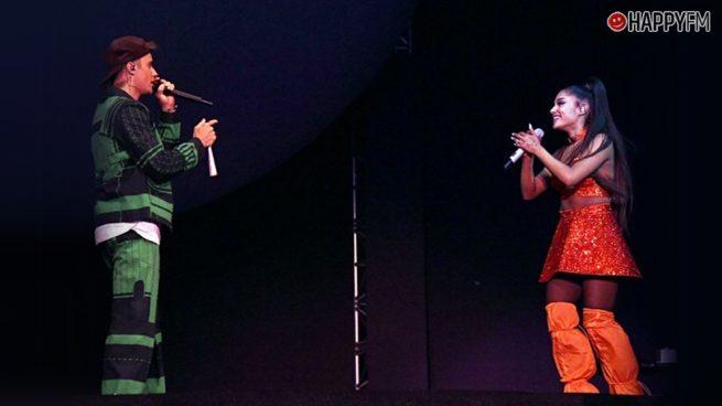 Ariana Grande y Justin Bieber responden a las acusaciones de playback en 'Coachella'