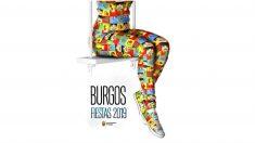 Cartel de las fiestas de Burgos