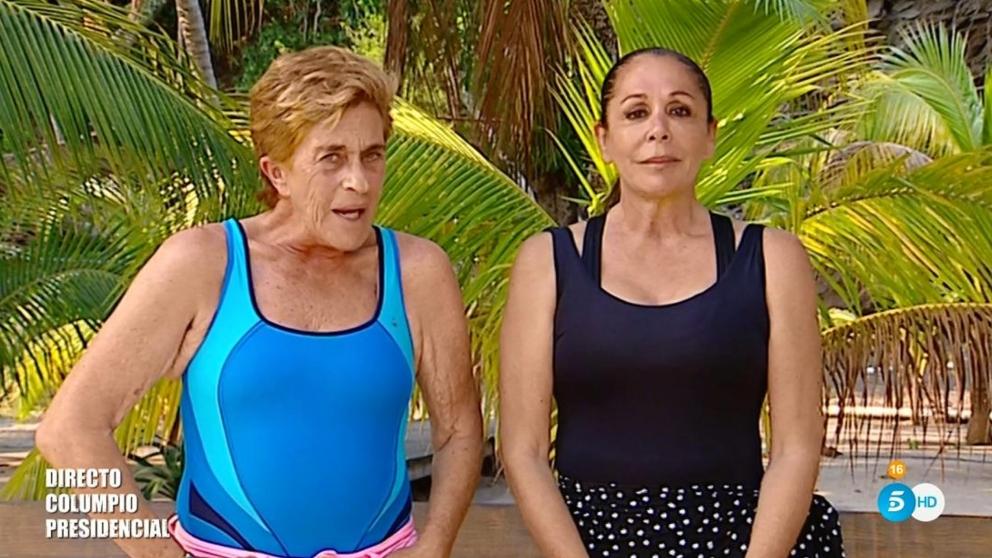 Isabel Pantoja y Chelo se vieron de nuevo en 'Supervivientes 2019'