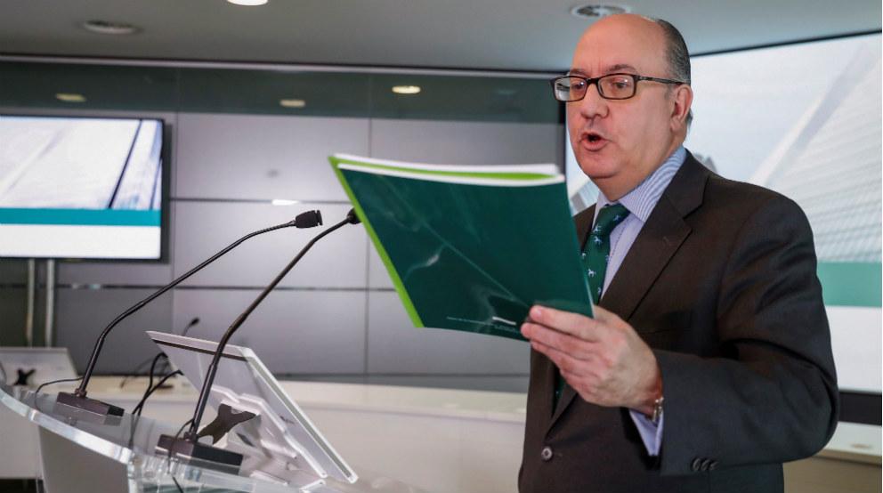 José María Roldán, presidente de la AEB. Foto: Efe