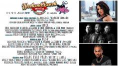 El Weekend Festival tiene un cartel con reconocidos cantantes internacionales.