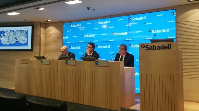 Sabadell sobre las palabras de Iglesias: «La banca vende como objeto de vudú pero la realidad es otra»