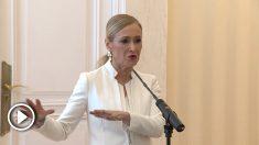 La dimisión de Cristina Cifuentes tras publicar un vídeo OKDIARIO en el que aparcía ella robando dos cremas en un hipermercado